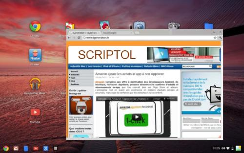 Aura Manager for Chrome OS
