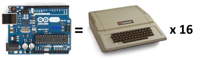 Arduino vs Apple ][