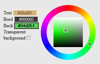 Canvas logo maker colors