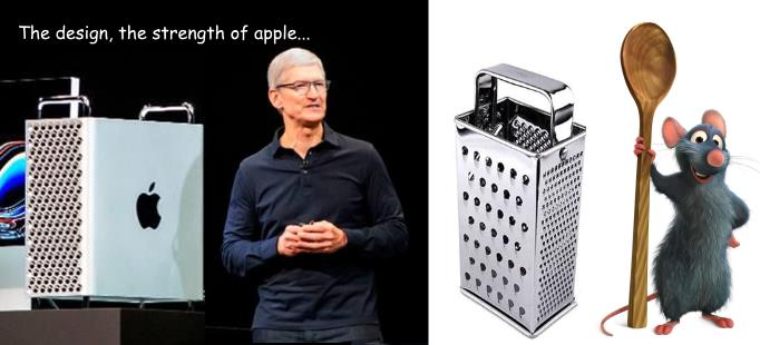 Apple Mac Pro, l'art du design