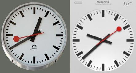 The Swiss clock of Apple