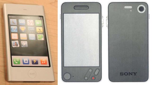 Apple P2 vs Sony in 2006