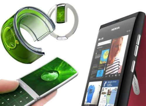 nokia from flexible mobile phone to all touch nokia mobiles of the