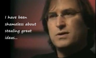 Steve Jobs shameless