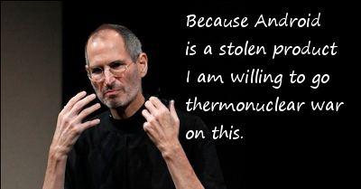 Steve Jobs thermonuclear