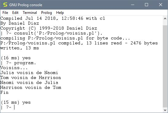 Console Prolog