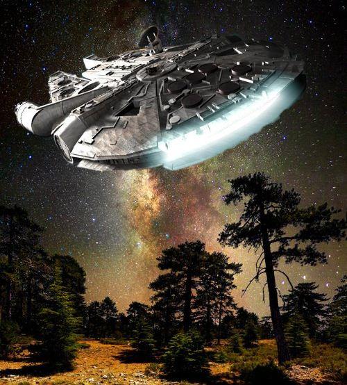 robot space ship