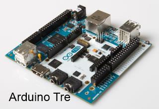 Arduino Tre motherboard