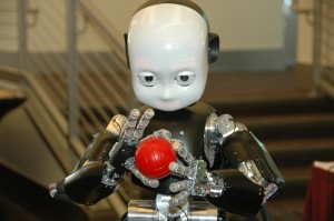 A learning robot