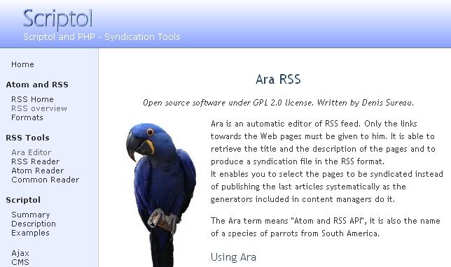 ARA Editor screenshot