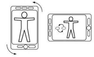 Apple patent on rotating image