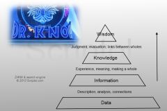 DIKW and search engine