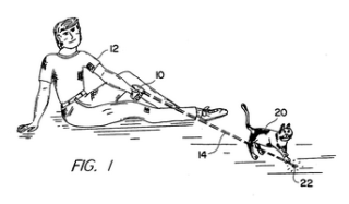 Patent on the cat