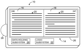 Patent page flip