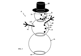 Patent on snowman