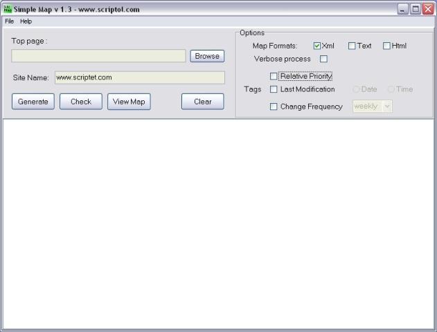 sitemap and sitemap generator